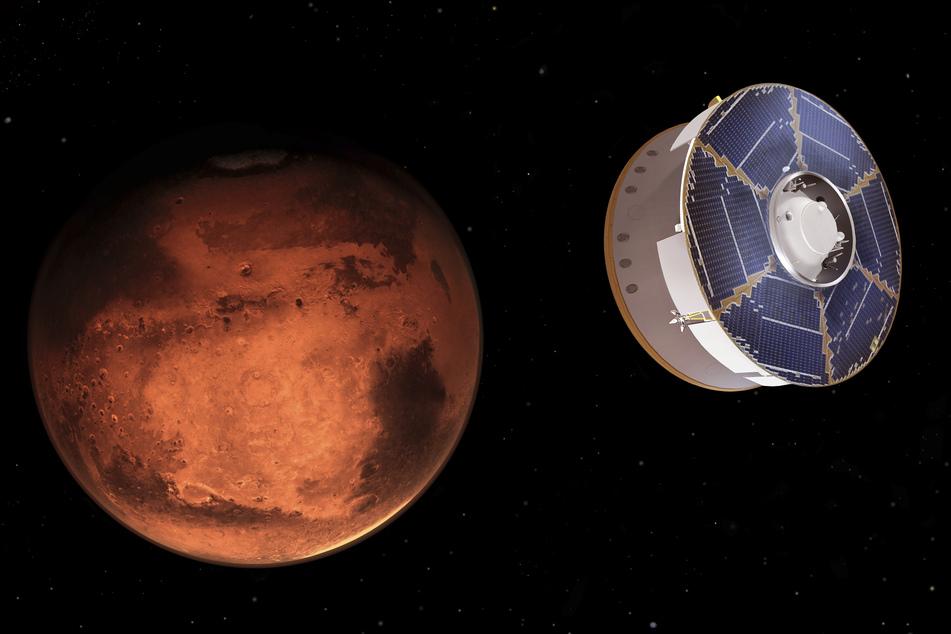 """Riskantes Manöver: Nasa-Rover """"Perseverance"""" auf dem Mars gelandet"""