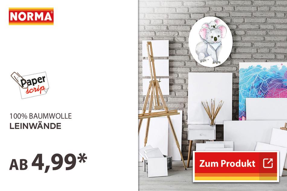 Leinwände / Tischstaffelei ab 4,99 Euro.