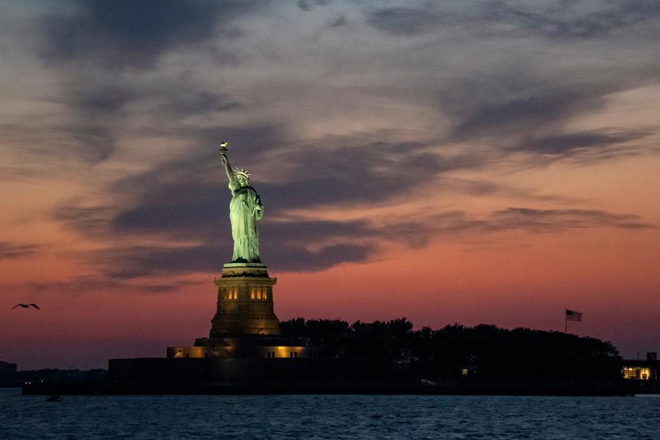 Das Original: Die Freiheitsstatue auf Liberty Island.