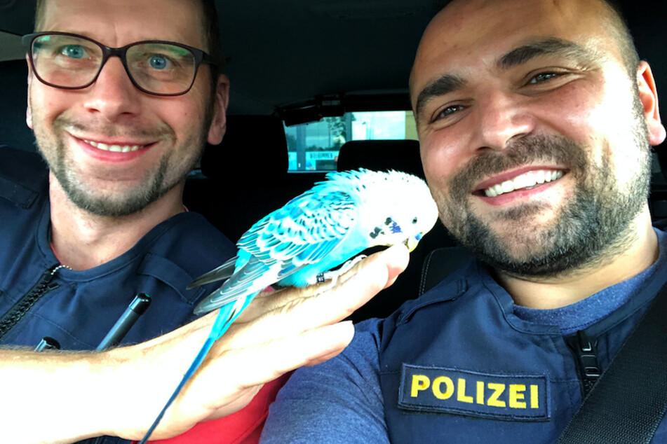 Kleines Kerlchen ganz zutraulich: Polizisten machen unerwartete Bekanntschaft