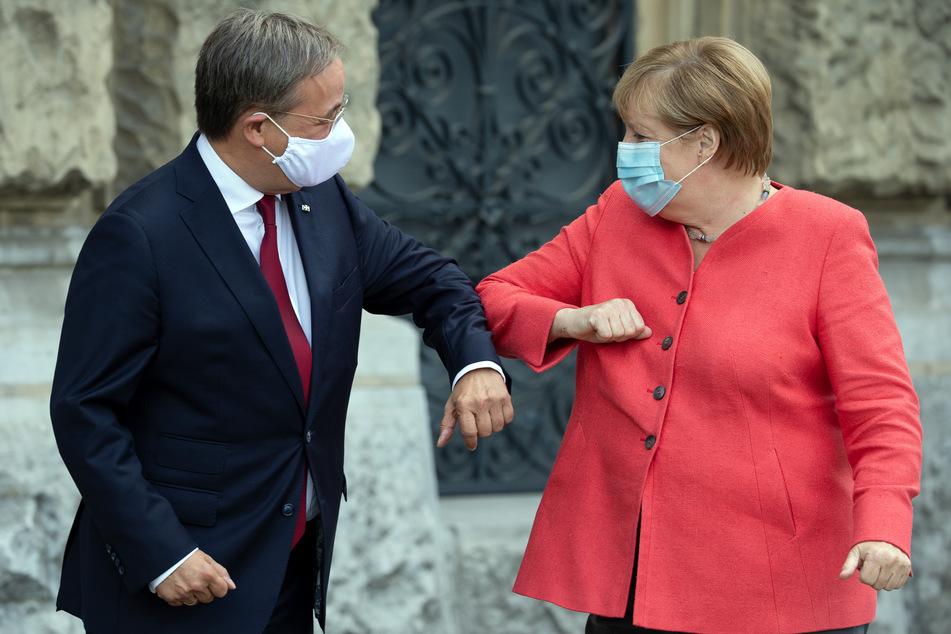 Die Kanzlerin weilte am Dienstag zum Besuch in Nordrhein-Westfalen.