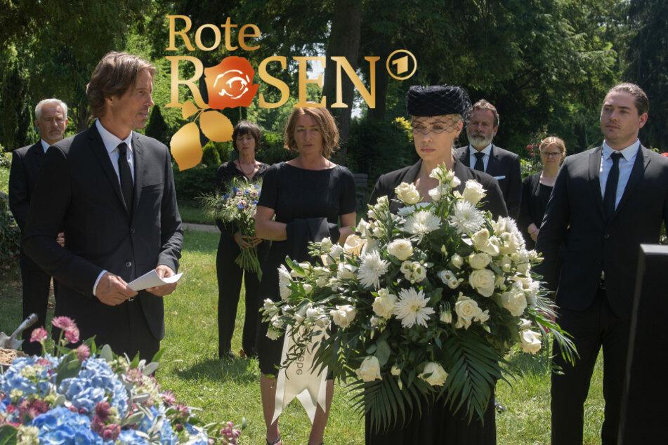 Rote Rosen: Das passiert auf Torbens Beerdigung