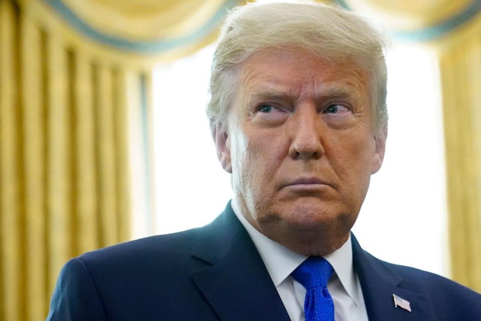 """Trump glaubt, er habe die Wahl mit einem """"wundervollen Erdrutschsieg"""" gewonnen"""