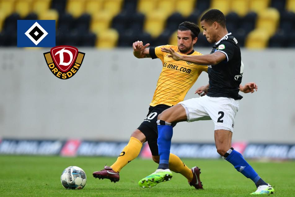HSV gelingt wichtiger Auswärtssieg gegen Dynamo Dresden