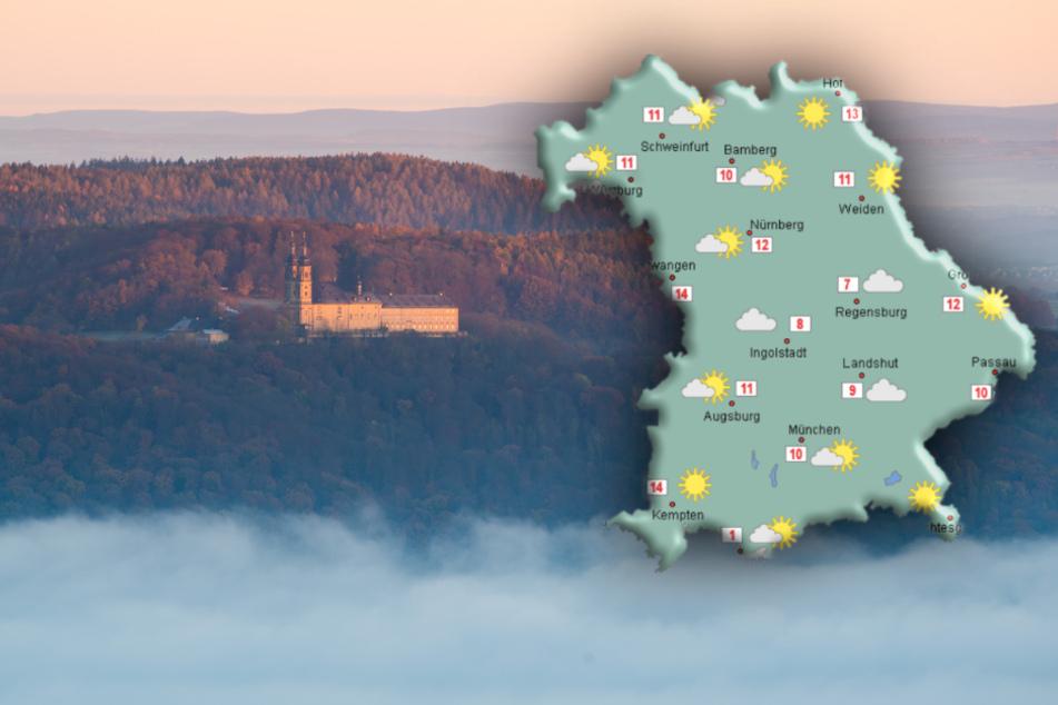 Wetter in Bayern: Das passiert, sobald sich der Nebel auflöst