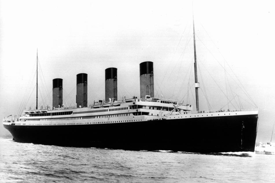Der Luxusdampfer Titanic (undatiertes Archivfoto).