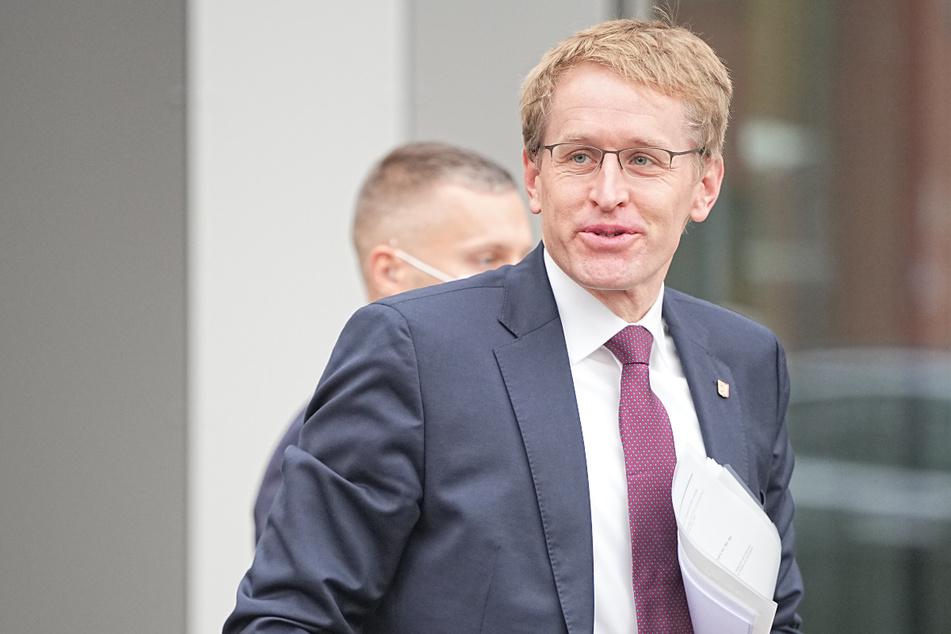 Daniel Günther (CDU) Ministerpräsident von Schleswig Holstein, hält eine Impfpflicht für bestimmte Berufsgruppen sinnvoll.