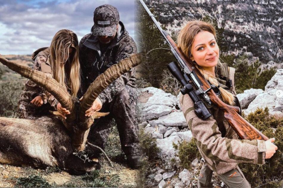 Hobby-Jägerin (23) präsentiert ihre Trophäen und bekommt Morddrohungen