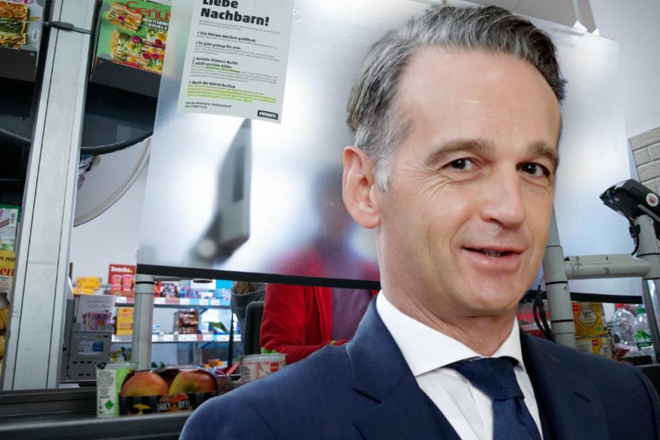 Heiko Maas verliert seine Kreditkarte im Supermarkt: Polizei schreitet zur Hilfe