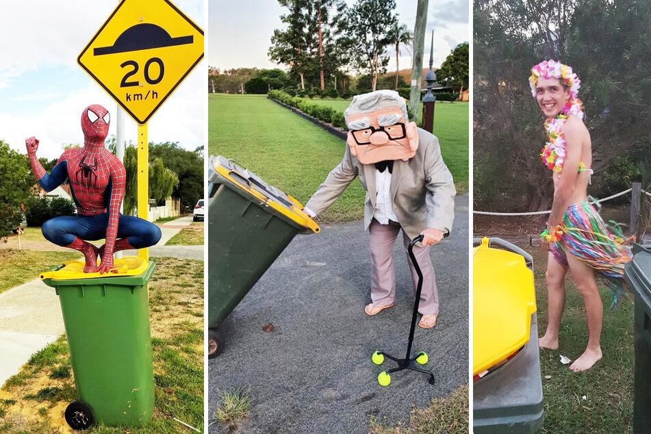 Mega witzig, wie Australier Müll rausbringen: Das steckt dahinter