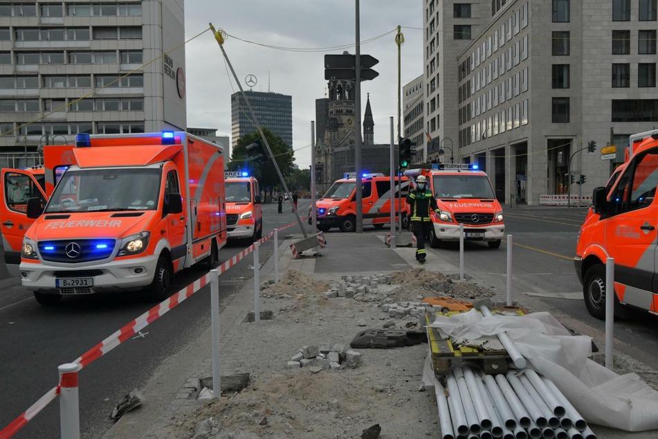 Am Sonntagmorgen kam es zu einem schweren Unfall in Berlin.