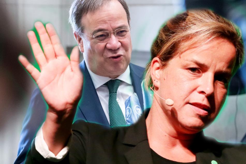 Nebulöse Corona-Strategie? NRW-Grünen-Chefin teilt gegen Armin Laschet aus