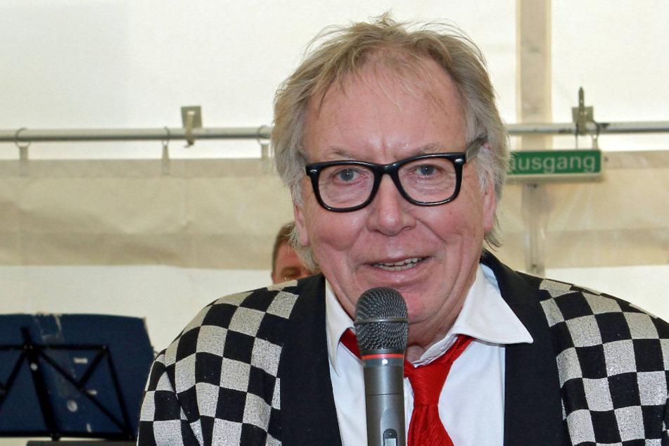 Der Verstorbene Werner Böhm (78) im karierten Sacko - wie man ihn kennt.