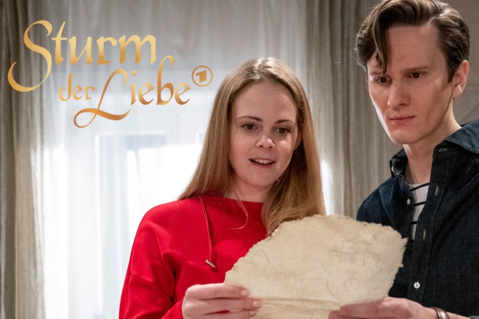 """Gänsehaut-Duett dieser """"Sturm der Liebe""""-Stars begeistert Fans"""