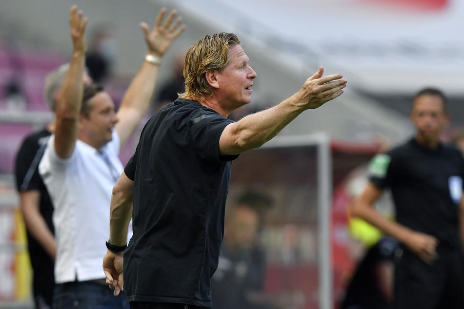 FC-Trainer Markus Gisdol (50) war mit der Leistung seiner Spieler gegen Union Berlin nicht zufrieden.