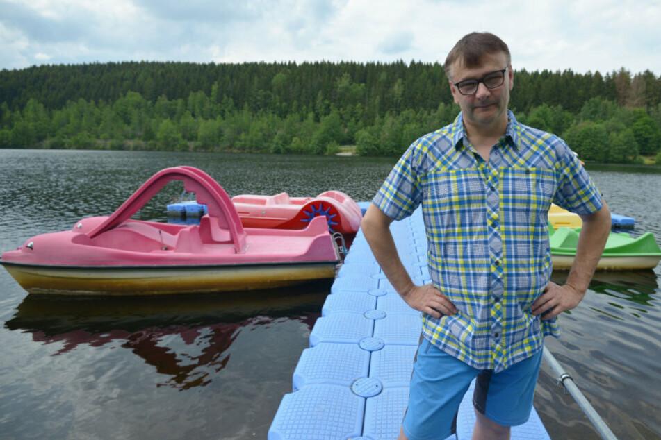 """250-Kilo-Tretboot weg! Wer hat meinen""""Delphin"""" geklaut?"""
