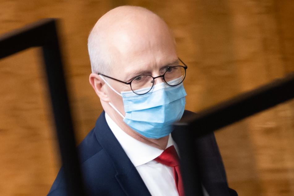 Der Hamburger Bürgermeister Peter Tschentscher (54, SPD).