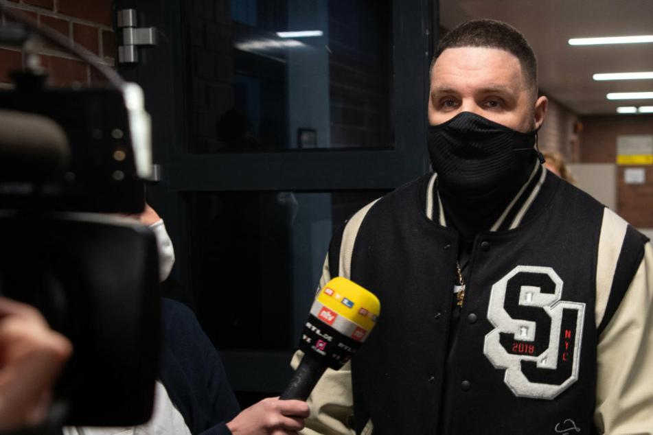 """Berliner Rapper Fler platzt vor Gericht der Kragen: """"Die lügen alle krass"""""""