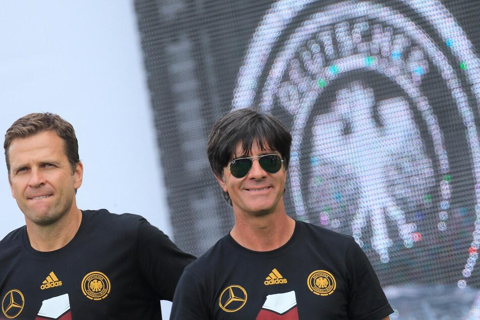 Es war der Höhe- und nicht der Schlusspunkt im Kapitel DFB für Oliver Bierhoff (52) und Joachim Löw (60). Der Sieg bei der WM 2014 in Brasilien.