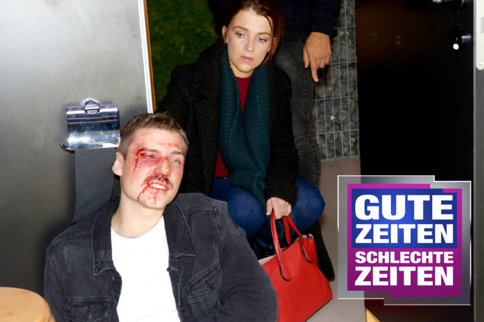 GZSZ: Gewalt-Drama bei GZSZ: Moritz wird zusammengeschlagen