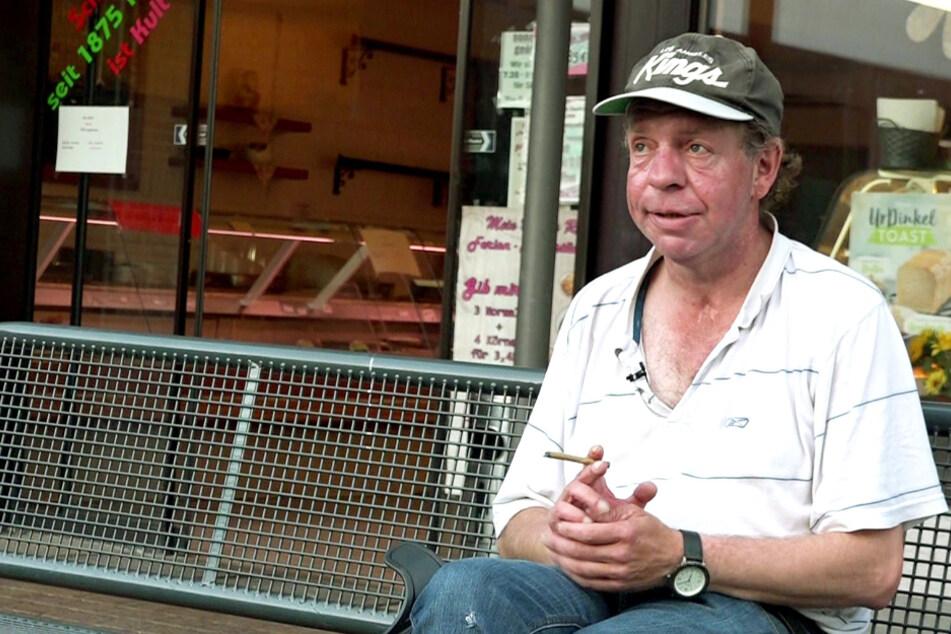 Trauriges Schicksal: Frührentner Thomas aus Leipzig wurde mit 16 Vollwaise