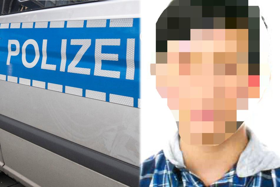Die Polizei in Südhessen veröffentlichte ein Foto des vermissten 16-Jährigen.