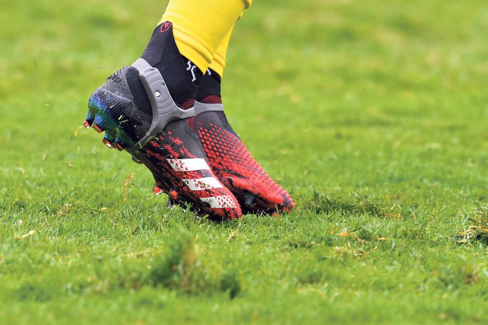 Das Geläuf im Harbig-Stadion hat in diesem Jahr ziemlich gelitten, ist deshalb schwer bespielbar. In zwei Wochen wird der Rasen deshalb ausgetauscht.