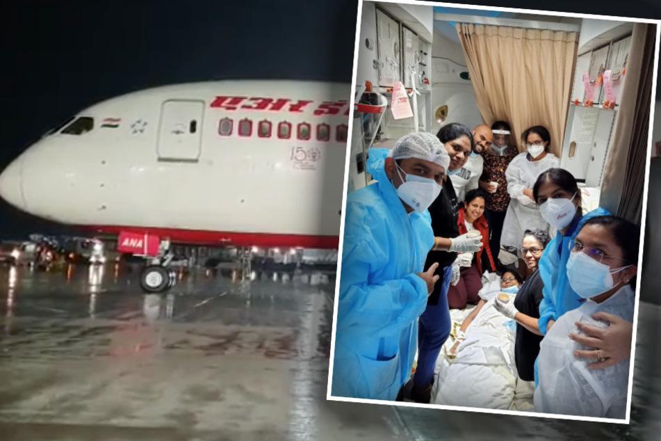Flugzeug muss plötzlich Notlandung hinlegen: Der Grund ist ein kleines Wunder