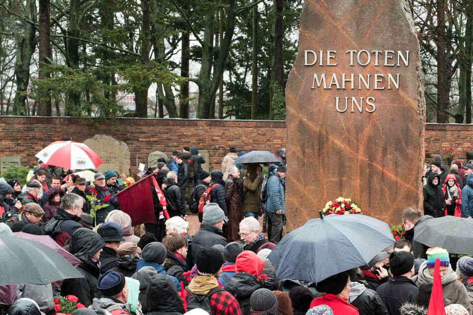 Berlin: Berlin gedenkt Rosa Luxemburg und Karl Liebknecht mit Corona-Verzögerung