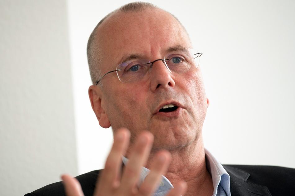 Thomas Röttgermann (59) ist Vorstandsvorsitzender von Fortuna Düsseldorf.
