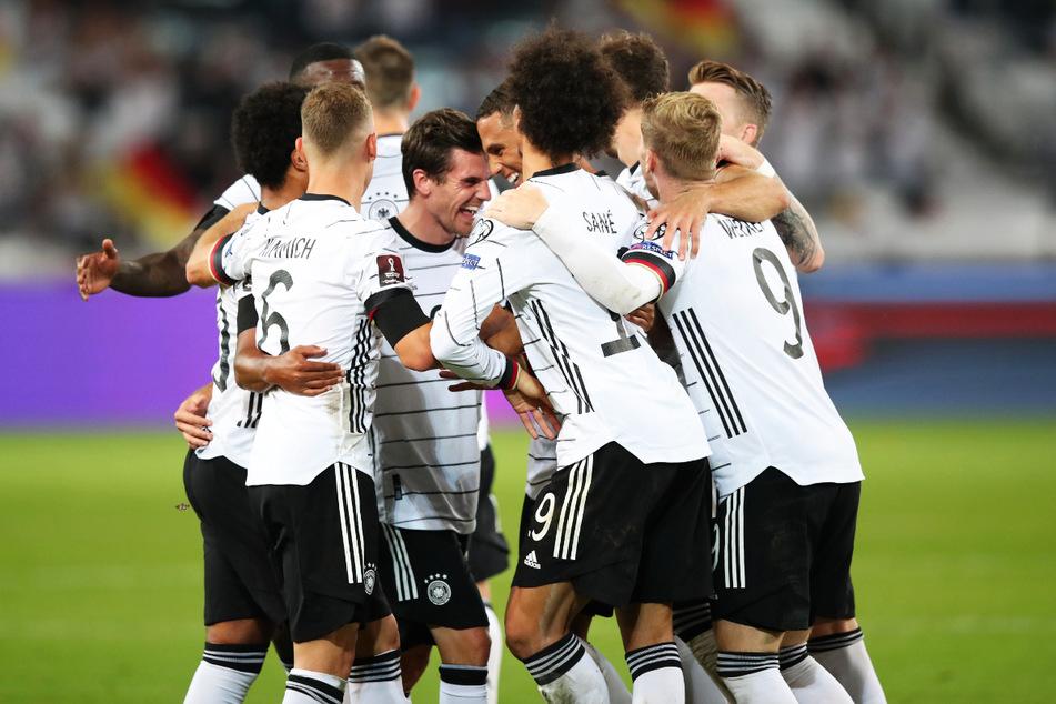 Großer Jubel beim DFB-Team: Deutschland zeigte nach dem schwachen Spiel in Liechtenstein eine deutliche Reaktion und lieferte gegen Armenien voll ab!