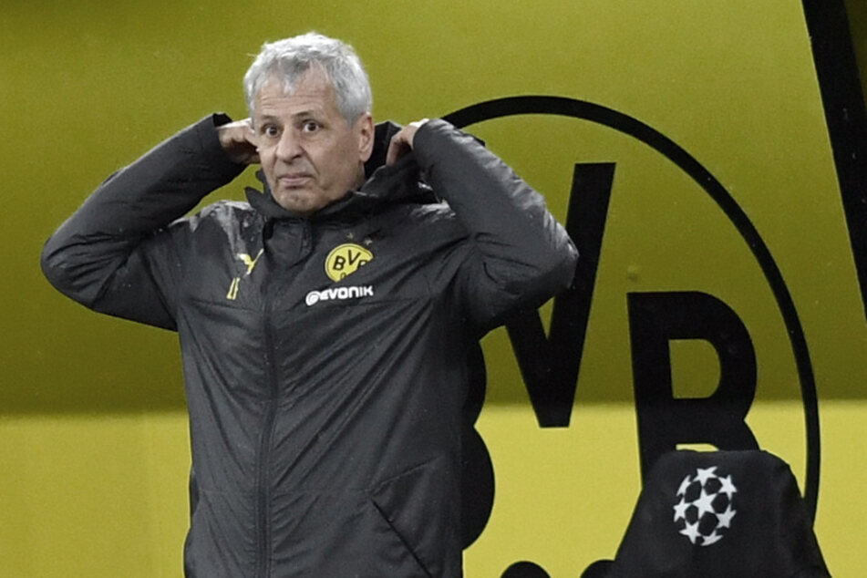 Die Leiden des jungen Favre. Der Trainer des BVB sah eine umkämpfte Partie.