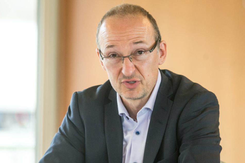 Robert Franke (43), Chef im Amt für Wirtschaftsförderung.