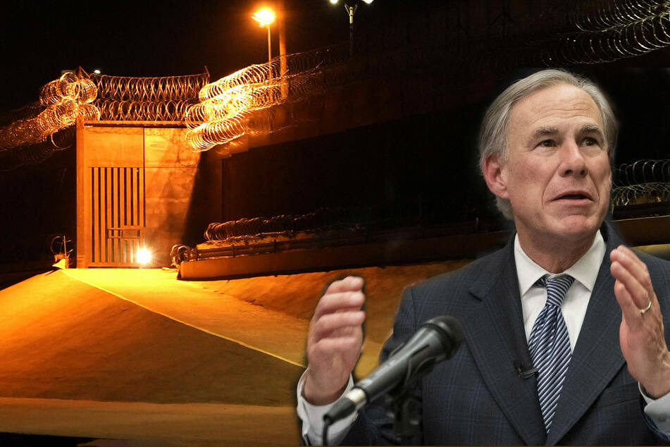 Texas Governor Greg Abbott announces $250-million state down payment on border wall