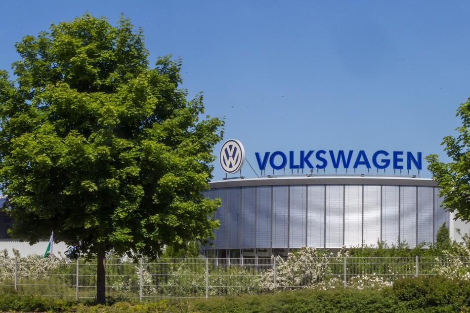 Das VW-Motorenwerk in Chemnitz