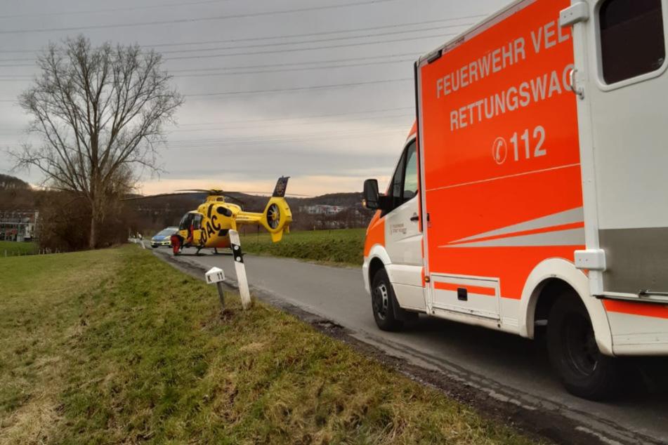 "Patient in Not: Rettungshubschrauber ""kapert"" kurzerhand Rettungswagen"