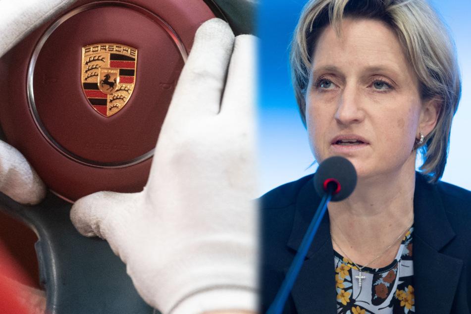 Wirtschaftsministerin kritisiert üppige Prämienzahlungen bei Porsche