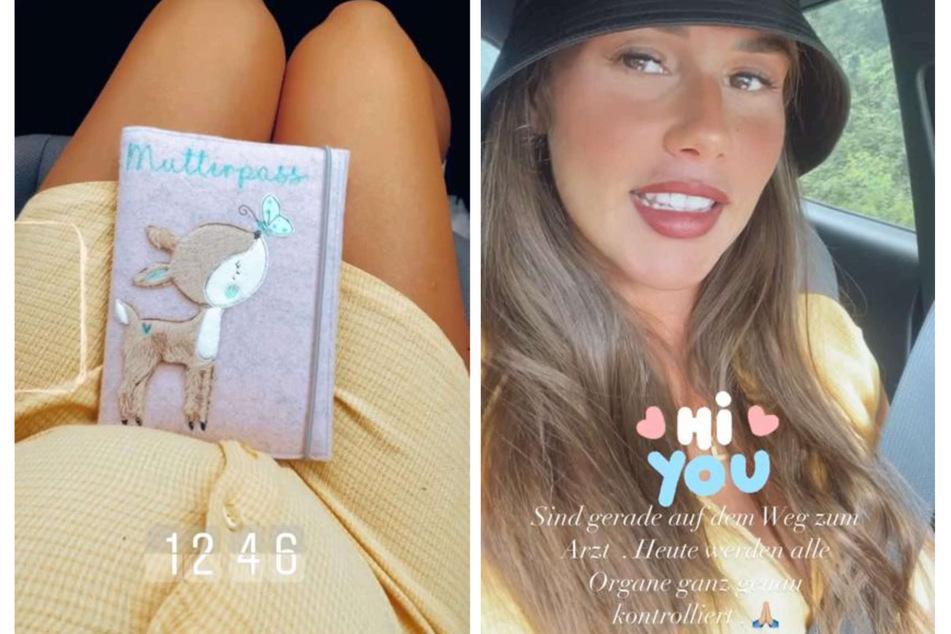 Sarah Engels (28) gab ihren Instagram-Fans am Dienstag ein Baby-Update nach ihrer Feindiagnostik-Untersuchung.
