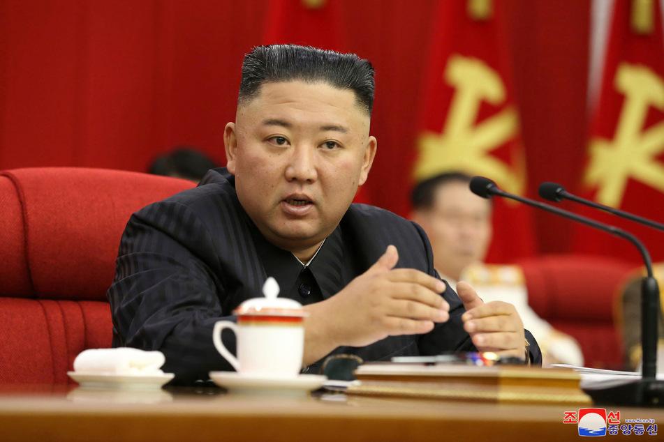 Der nordkoreanische Machthaber Kim Jong Un (37) soll in letzter Zeit stark abgenommen haben.