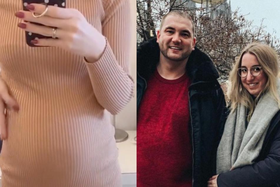 """Melissa von """"Hochzeit auf den ersten Blick"""": Mit diesem Baby-Bauch hätte sie nie gerechnet"""