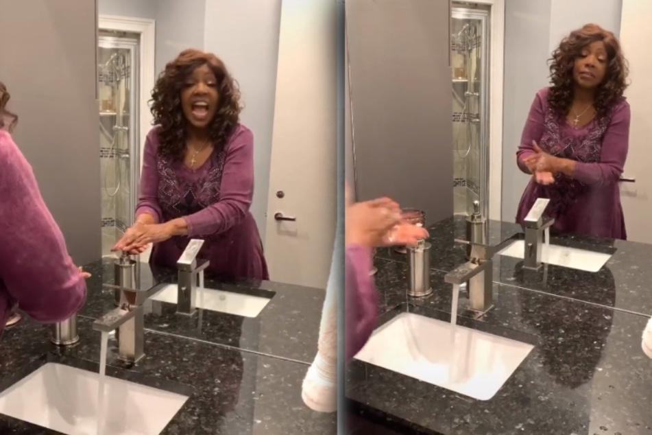 """Gloria Gaynor (70) wäscht sich die Hände zu """"I Will Survive"""""""