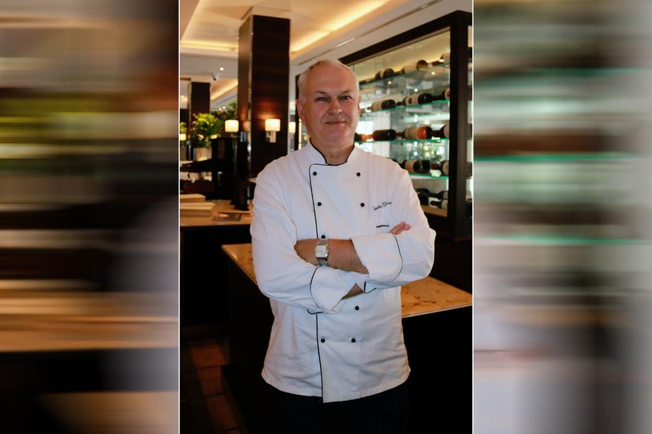 Der langjährige Chefkoch Dieter Dornig kann auf 46 Dienstjahre im Newa zurückblicken.