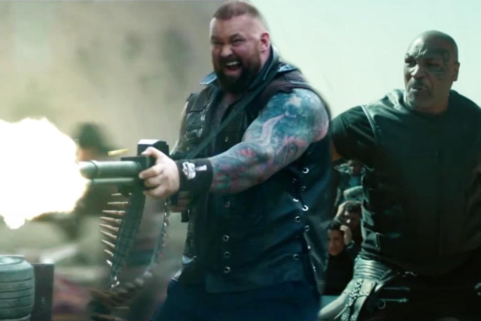 """""""Desert Strike"""": Mike Tyson und """"der Berg"""" aus """"Game of Thrones"""" sorgen für Gemetzel!"""