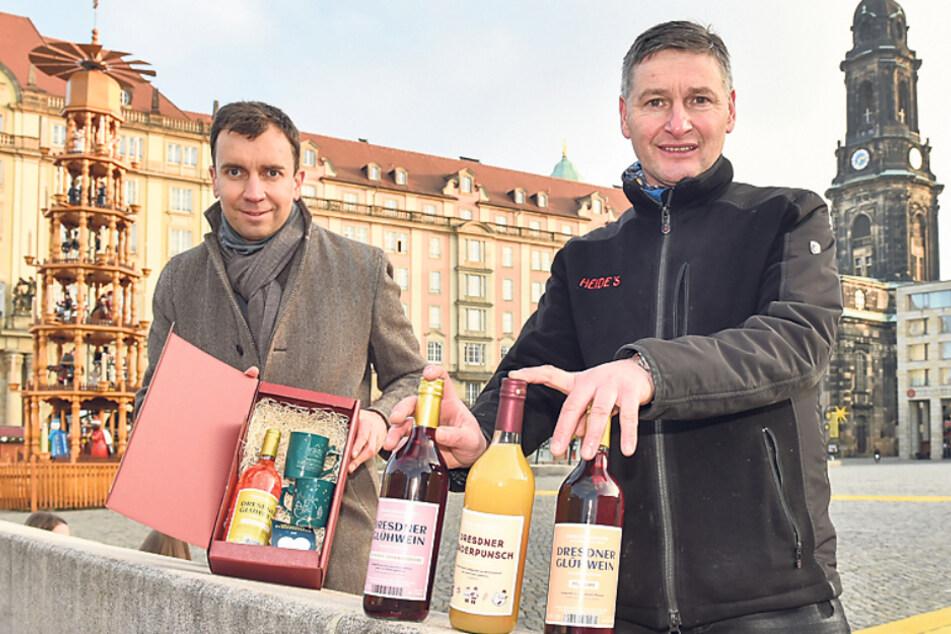 Dresden: Original Striezelmarkt-Set für die Feier zu Hause