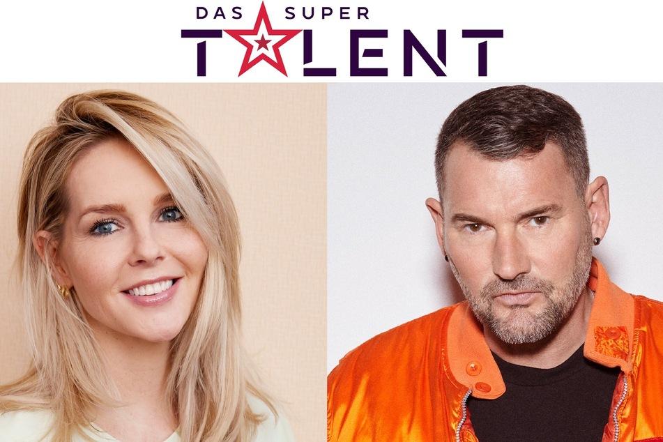 """Die """"Supertalent""""-Juroren Chantal Janzen (42) und Michael Michalsky (54)."""