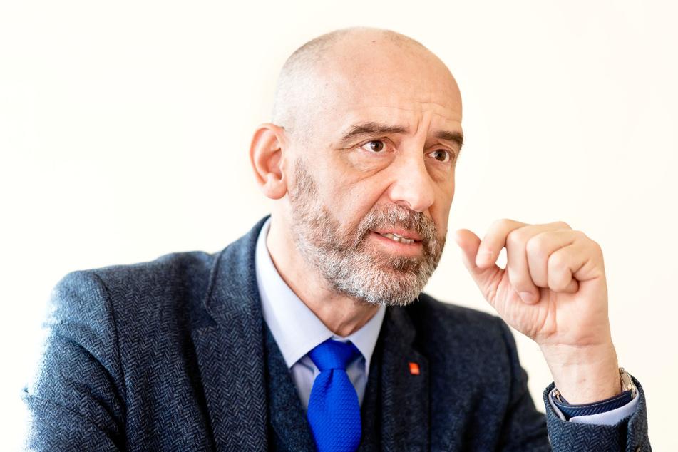 Bautzens Oberbürgermeister Alexander Ahrens (54, SPD).