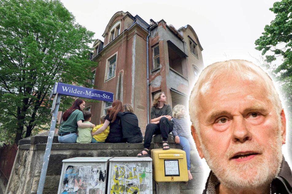 Dresden: Das freut auch Gunther Emmerlich: Neue Vorschrift könnte dieses Gründerzeithaus retten