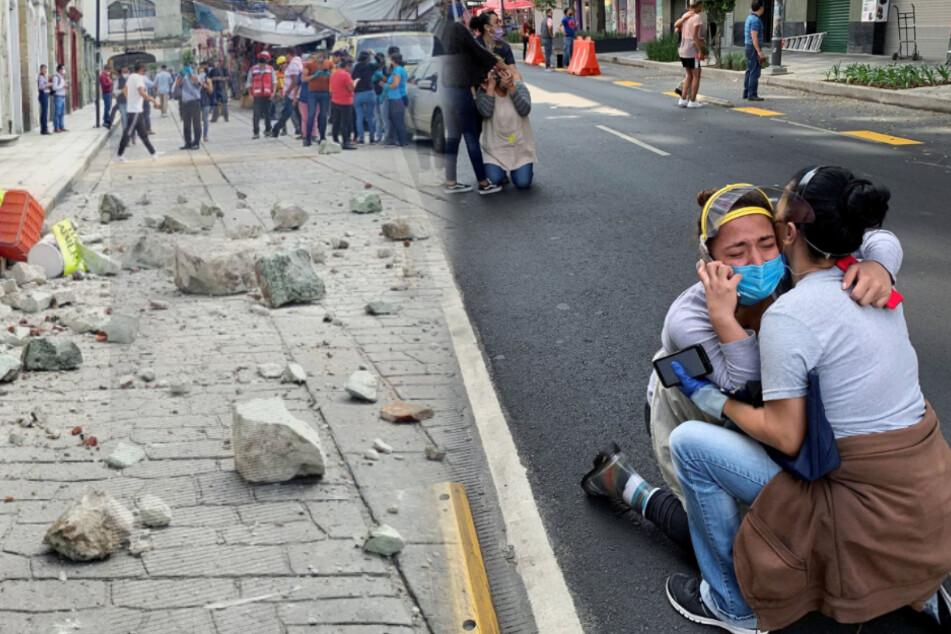 Schweres Erdbeben erschüttert Süden Mexikos: Mindestens sechs Tote!