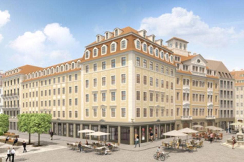 USD verkauft Filet-Grundstück am Dresdner Neumarkt