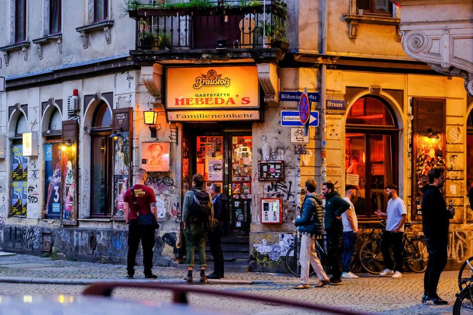 Das Hebeda's ist eine Institution im Szeneviertel Neustadt und im Dresdner Nachtleben.